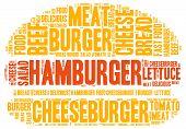 picture of hamburger  - Hamburger theme  - JPG