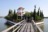 picture of lagos  - Pantanassa Orthodox Church Porto Lagos Vistonida Lake Xanthi Prefecture Thrace Greece - JPG