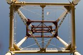 picture of power transmission lines  - power line - JPG