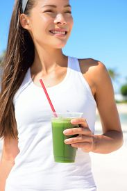 picture of cleanse  - Green smoothie - JPG
