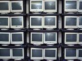 Old Monitors Graveyard