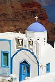 White Churches Of Greece