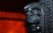 Powerful Lava Sculpture