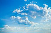 Wallpaper Clouds Blue