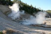 Geysir im Yellowstone-Nationalpark