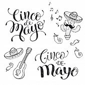 Постер, плакат: Cinco De Mayo Phrases