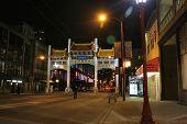 Chinatown Gate Vancouver British Columbia Canada