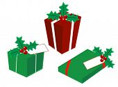 Regalos de Navidad - Vector