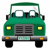 Jeep - Vector
