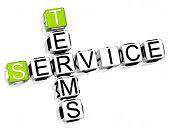 Service Terms Crossword