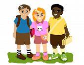 Schoolmates - Vector