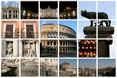 Fabulous Rome Collage