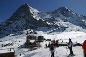 The Eiger From Grindelwald Swiss Alps 1