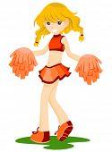 Cheerleader - Vector