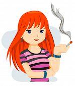 Smoking - Vector