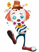 Cartoon-Clown-Vektor