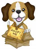Adopt Me Beagle - Vector