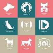 Dog Logo poster