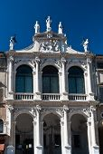 picture of vicenza  - Arhitectural detail of a palace in Vicenza design by Andrea Palladio - JPG