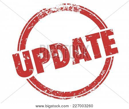 Update Stamp New Information Updating