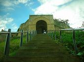 Lincoln Castle Graveyard Entrance