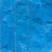 A Blue Square Grunge Background With Copyspace
