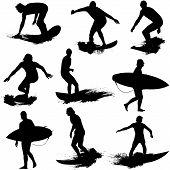 Surf silhouette