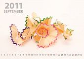 2011 September Calendar