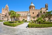 stock photo of sicily  - Cathedral of Palermo  - JPG