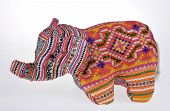 Colorful Stuffed Elephant