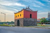 The North Gate, Cheng-en Gate, Of Old Taipei City poster