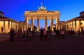 Brandenburger Tor (the Brandenburg Gate), Berlin
