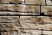 rough and irregular stone background
