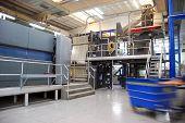 Printing Plant: Web (rolls) offset press