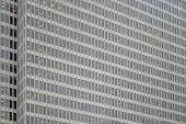 Windows Of Skyscraper Business Office, Corporate Building In San Francisco, California, Usa. poster