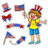amerikanische kid.eps