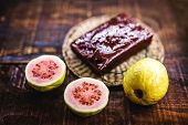 Guava Is A Sweet Made From Guava Typical Of Rustic Food, But Is Also Consumed In Many Places Around poster