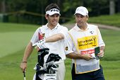 Jogador de golfe do Louis Oosthuizen, África do Sul
