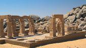 der Tempel der Gerf Hussein (in der Nähe von Aswan, Ägypten)