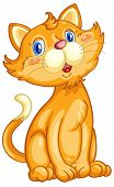 Illustration of a cute ginger cat - EPS VECTOR format also available in my portfolio.