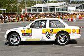 Leiria, Portugal - April 22: Armando Rito Drives A Opel Corsa Prototype During Leiria City Slalom 20