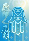 blue hand of fatima