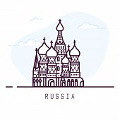 Russia Line City poster