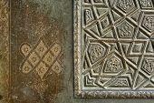 Bronze Door Detail From The Blue Mosque, Istanbul, Turkey