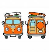 stock photo of camper-van  - A holiday van - JPG