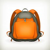 Backpack, vector