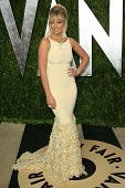 WEST HOLLYWOOD, CA - FEB 24: Genevieve Morton at the Vanity Fair Oscar Party at Sunset Tower on Febr