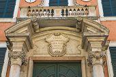 Постер, плакат: Епископ дворец Феррара Эмилия Романья Италия
