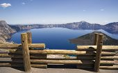 Crater Lake Caldera National Park Oregon Usa