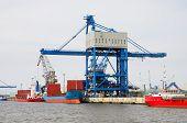 Hafen Rostock. Deutschland